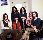 Fleetwood Mac 1969 Mick Fleetwood, Peter Green, Jeremy Spencer, Danny Kirwan and John McVie<br /> &copy; Chris Walter