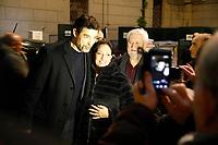 The actor Alessandro Gassman receives the honorary citizenship of Naples <br /> Alessandro Gasmann cittadino onorario di Napoli