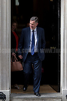 David Gauke MP (Secretary of State for Work and Pensions, DWP).<br /> <br /> London, 12/06/2017. Today, Theresa May's reshuffled Cabinet met at 10 Downing Street after the General Election of the 8 June 2017. Philip Hammond MP - not present in the photos - was confirmed as Chancellor of the Exchequer. <br /> After 5 years of the Coalition Government (Conservatives &amp; Liberal Democrats) led by the Conservative Party leader David Cameron, and one year of David Cameron's Government (Who resigned after the Brexit victory at the EU Referendum held in 2016), British people voted in the following way: the Conservative Party gained 318 seats (42.4% - 13,667,213 votes &ndash; 12 seats less than 2015), Labour Party 262 seats (40,0% - 12,874,985 votes &ndash; 30 seats more then 2015); Scottish National Party, SNP 35 seats (3,0% - 977,569 votes &ndash; 21 seats less than 2015); Liberal Democrats 12 seats (7,4% - 2,371,772 votes &ndash; 4 seats more than 2015); Democratic Unionist Party 10 seats (0,9% - 292,316 votes &ndash; 2 seats more than 2015); Sinn Fein 7 seats (0,8% - 238,915 votes &ndash; 3 seats more than 2015); Plaid Cymru 4 seats (0,5% - 164,466 votes &ndash; 1 seat more than 2015); Green Party 1 seat (1,6% - 525,371votes &ndash; Same seat of 2015); UKIP 0 seat (1.8% - 593,852 votes); others 1 seat. <br /> The definitive turn out of the election was 68.7%, 2% higher than the 2015.<br /> <br /> For more info about the election result click here: http://bbc.in/2qVyNRd &amp; http://bit.ly/2s9ob51<br /> <br /> For more info about the Cabinet Ministers click here: https://goo.gl/wmRYRd