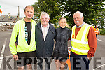 Liam O'Halloran, Pat Griffin, Jackie O'Carroll and John Fitzgerald ready for road at the Kilmoyley 5k/10 road race on Sunday morning.<br />  .