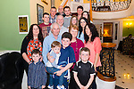 William and Nora Casey from Ballydaly, Rathmore celebrated their 45th Wedding Anniversary surrounded by family and friends in the Dromhall Hotel, Killarney last Saturday night.