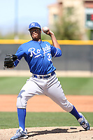 Ivor Hodgson, Kansas City Royals 2010 minor league spring training..Photo by:  Bill Mitchell/Four Seam Images.