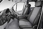 Front seat view of a 2014 Mercedes Benz Sprinter 319 Bluetec Extra Long High roof 4 Door Cargo Van 2WD Front Seat car photos