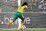 11 JUN 2010: Siphiwe Tshabalala (RSA) celebrates scoring a goal. The South Africa National Team tied the Mexico National Team 1-1 at Soccer City Stadium in Johannesburg, South Africa in the opening match of the 2010 FIFA World Cup.