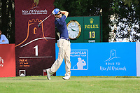 Daan Huizing (NED) in action during round 3, Ras Al Khaimah Challenge Tour Grand Final played at Al Hamra Golf Club, Ras Al Khaimah, UAE. 02/11/2018<br /> Picture: Golffile | Phil Inglis<br /> <br /> All photo usage must carry mandatory copyright credit (&copy; Golffile | Phil Inglis)