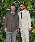 """Michael Sheen and David Tennant at the """"Good Omens"""" UK TV premiere, Odeon Luxe Leicester Square, Leicester Square, London, England, UK, on Tuesday 28th May 2019.<br /> CAP/CAN<br /> ©CAN/Capital Pictures"""