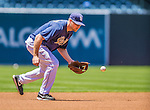 22 June 2013: San Diego Padres infielder Chase Headley warms up prior to a game against the Los Angeles Dodgers at Petco Park in San Diego, California. The Dodgers defeated the Padres 6-1 in the third game of their 4-game Divisional Series. Mandatory Credit: Ed Wolfstein Photo *** RAW (NEF) Image File Available ***