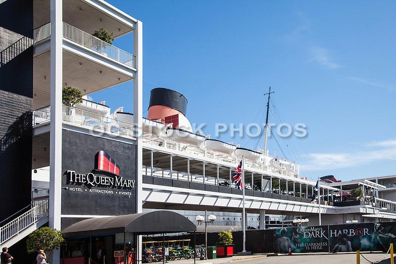 Long Beach Landmark The Queen Mary