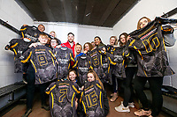 Picture by Allan McKenzie/SWpix.com - 25/02/2019 - Rugby League - CreatedBy RLWC2021 - South Leeds Spartans - Leeds Corinthians RUFC, Middleton, England - South Leeds Spartans receive their new kit with Luke Gale.