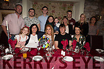 Danielle O'Sullivan from Lixnaw celebrating her birthday in Cassidys on Saturday night<br /> Seated l to r: Sandra O'Sullivan, Jamie Cameron, Danielle O'Sullivan, Jeremiah and Nicole Quirke.<br /> Back l to r: Kenneth O'Sullivan, Mike Gaynor, Shane, Emma and Ríadh O'Sullivan, Eileen Quirke, Gavin Lynch, Samatha and Emily Quirke.