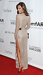 Alessandra Ambrosio arriving to the amfAR Inspiration Gala held at Milk Studios in Los Angeles, Ca. December 12, 2013