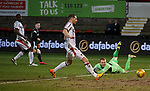 Lee Robinson can only watch as Cammy Smith's shot beats him for St Mirren's opener