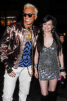 "LOS ANGELES, CA - JUNE 14: Polish popstar Kuba Ka and Vikki Lizzi attend Kuba Ka's performance for his single ""Stop Feenin'"" at Hyde Nightclub on June 14, 2013 in Los Angeles, California. (Photo by Celebrity Monitor)"