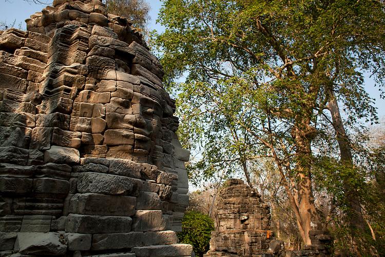 The ancient ruins at Banteay Chhmar near Battambang, Cambodia. <br /> <br /> Photos &copy; Dennis Drenner 2013.
