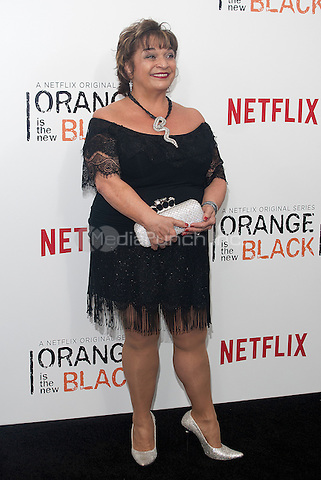 NEW YORK, NEW YORK - MAY 15, 2014:  Actress Lin Tucci of 'Orange is the New Black' attends the Season 2 Premiere of 'Orange is the New Black' hosted by Netflix at The Ziegfeld Theater in New York, New York on Thursday May 15, 2014. Photo credit:RTNHargrove/MediaPunch