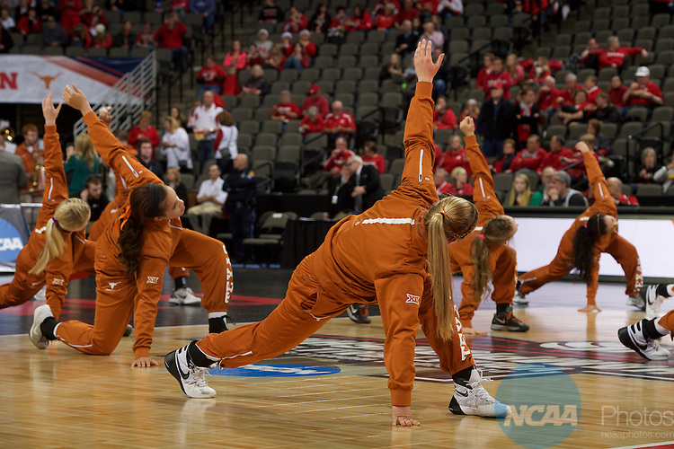19 DEC 2015:  The University of Nebraska takes on the University of Texas during the Division I Women's Volleyball Championship held at the Century Link Center in Omaha, NE.  Nebraska defeated Texas 3-0 for the national title.  Jamie Schwaberow/NCAA Photos