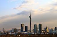 Tianjin tv tower city skyline sunrise view photo