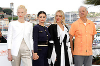 Tilda Swinton, Selena Gomez, Chloe Savigny and Bill Murray at the 'The Dead Don't Die' photocall during the 72nd Cannes Film Festival at the Palais des Festivals on May 15, 2019 in Cannes, France