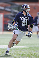 College Park, MD - February 25, 2017: Yale Bulldogs Conor Mackie (21) in action during game between Yale and Maryland at  Capital One Field at Maryland Stadium in College Park, MD.  (Photo by Elliott Brown/Media Images International)