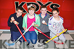 YOUTH CLUB: Member's of Óg-Ras Irish speaking youth club which is held at 7pm at the KDYS, Tralee on Friday l-r: Seán Ó Coileáin, Sinéad Ní Fhuaráin, Shane Elton and  Ailbhe Ní Mhongáin.