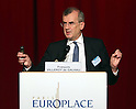 December 5, 2016, Tokyo, Japan - Bank of France Governor Francois Villeroy de Galhau delivers a speech at the luncheon of the 20th Paris Europlace financial forum in Tokyo on Monday, December 5, 2016. Villeroy de Galhau and Bank of Japan Governor Haruhiko Kuroda attended the annual business meeting.  (Photo by Yoshio Tsunoda/AFLO) LWX -ytd-