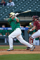 Ryan Lidge (36) of the Notre Dame Fighting Irish at bat against the Florida State Seminoles in Game Four of the 2017 ACC Baseball Championship at Louisville Slugger Field on May 24, 2017 in Louisville, Kentucky. The Seminoles walked-off the Fighting Irish 5-3 in 12 innings. (Brian Westerholt/Four Seam Images)