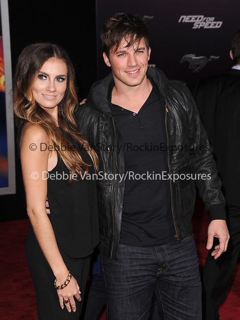 Matt Lanter attends The Dreamworks Pictures' L.A. premiere of Need for Speed held at The TCL Chinese Theater in Hollywood, California on March 06,2014                                                                               © 2014 Hollywood Press Agency