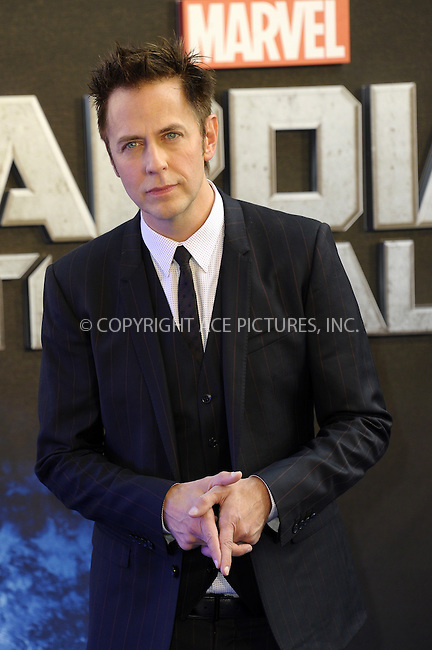 ACEPIXS.COM<br /> <br /> July 24 2014, London<br /> <br /> James Gunn arriving at the UK Premiere of 'Guardians of the Galaxy' at the Empire Leicester Square in London, England<br /> <br /> By Line: Famous/ACE Pictures<br /> <br /> ACE Pictures, Inc.<br /> www.acepixs.com<br /> Email: info@acepixs.com<br /> Tel: 646 769 0430
