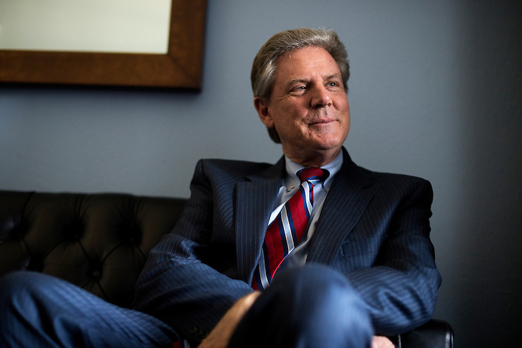 UNITED STATES - MAY 15: Rep. Frank Pallone, D-N.J., is interviewed by CQ Roll Call in his Cannon Building office, May 15, 2015. (Photo By Tom Williams/CQ Roll Call)