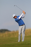 Peter Uihlein (USA) on the 11th fairway during Round 3 of the 2015 Alfred Dunhill Links Championship at Kingsbarns in Scotland on 3/10/15.<br /> Picture: Thos Caffrey | Golffile