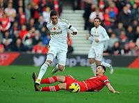 2012 11 10 Southampton v Swansea City, St Mary's Stadium, Southampton, UK.