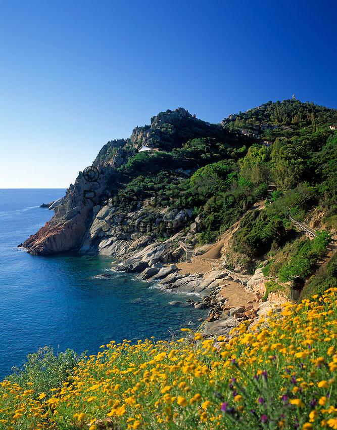 Italy, Sardinia, Cala Moresca at Capo Bellavista near Porto Frailis