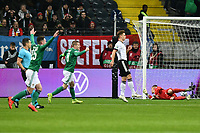 19th November 2019, Frankfurt, Germany; 2020 European Championships qualification, Germany versus Northern Ireland;  Michael Smith scores for 1:0 past keeper Marc-Andre ter Stegen