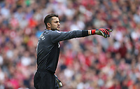West Ham United's Lukasz Fabianski<br /> <br /> Photographer Rob Newell/CameraSport<br /> <br /> The Premier League - Liverpool v West Ham United - Sunday August 12th 2018 - Anfield - Liverpool<br /> <br /> World Copyright &copy; 2018 CameraSport. All rights reserved. 43 Linden Ave. Countesthorpe. Leicester. England. LE8 5PG - Tel: +44 (0) 116 277 4147 - admin@camerasport.com - www.camerasport.com