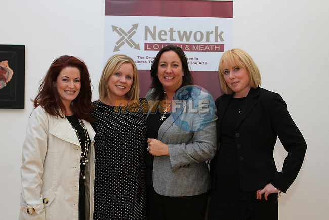 Roz Martin, The Collagen Company, Samantha Kelly, Funky Goddess, Nicola Watkins, Nicola Watkins PR and Roz Kelly, wicklowireland.ie at the Network Ireland National Conference and Business Women of the Year Awards 2012 - Friday 28th September in Drogheda, Co. Louth..Photo NEWSFILE/Jenny Matthews.