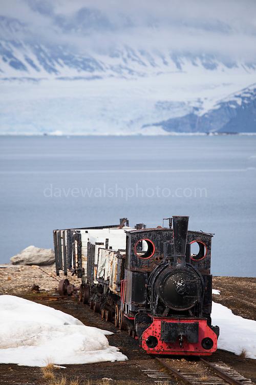 Borsig Steam Engine at Ny Alesund | Dave Walsh Photography
