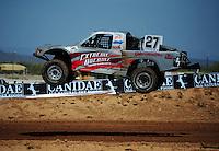 Apr 15, 2011; Surprise, AZ USA; LOORRS driver Scott Martenson (27) during round 3 and 4 at Speedworld Off Road Park. Mandatory Credit: Mark J. Rebilas-.