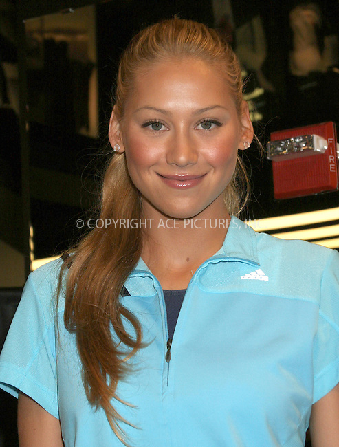 WWW.ACEPIXS.COM . . . . . ....NEW YORK, MAY 7TH, 2005....Anna Kournikova at an instore autograph signing at the Adidas Sports Performance Store. ....Please byline: ACE005 - ACE PICTURES.. . . . . . ..Ace Pictures, Inc:  ..Craig Ashby (212) 243-8787..e-mail: picturedesk@acepixs.com..web: http://www.acepixs.com