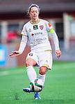 Solna 2015-10-11 Fotboll Damallsvenskan AIK - FC Roseng&aring;rd :  <br /> Roseng&aring;rds Lina Nilsson i aktion under matchen mellan AIK och FC Roseng&aring;rd <br /> (Foto: Kenta J&ouml;nsson) Nyckelord:  Damallsvenskan Allsvenskan Dam Damer Damfotboll Skytteholm Skytteholms IP AIK Gnaget  FC Roseng&aring;rd portr&auml;tt portrait
