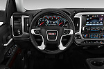 Car pictures of steering wheel view of a 2017 GMC Sierra-1500 Crew-Cab-Short-Box-SLT 4 Door Pickup Steering Wheel