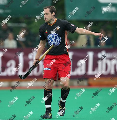 2008-06-15 / Hockey / België - Australië / Loïc Vandeweghe ..Foto: Maarten Straetemans (SMB)