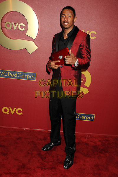 28 February 2014 - Los Angeles, California - Nick Cannon. QVC Presents Red Carpet Style held at the Four Seasons Hotel. <br /> CAP/ADM/BP<br /> &copy;Byron Purvis/AdMedia/Capital Pictures