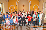Nano Nagle School 1st Communion: The pupils from Nano Nagle School, Listowel who received their 1st Communion at St Bridget's Church, Listowel from Canon Declan O'Conor on Saturday last pictured with their family & friends.