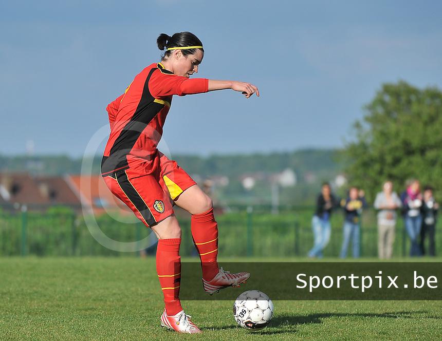 Belgium - Ukraine : Cecile De Gernier<br /> foto DAVID CATRY / Nikonpro.be