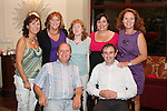 Boyne Badminton Club committee Mirium Gough, Lillian Brown, Caroline Meegan, Brenda Murray Flynn, Linda O'Connor, Kevin Paul and Thomas Somers in the Black Bull...Picture Jenny Matthews/Newsfile.ie