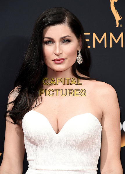 LOS ANGELES, CA - SEPTEMBER 18: Trace Lysette arrives at the 68th Emmy Awards at the Microsoft Theater on Sunday, September 18, 2016, in Los Angeles, California. <br /> CAP/MPI99<br /> &copy;MPI99/Capital Pictures