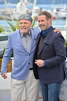 Stacy Keach &amp; John Travolta at the photocall for &quot;Gotti&quot; at the 71st Festival de Cannes, Cannes, France 15 May 2018<br /> Picture: Paul Smith/Featureflash/SilverHub 0208 004 5359 sales@silverhubmedia.com