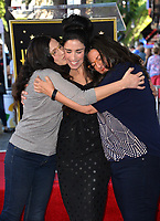 LOS ANGELES, CA. November 09, 2018: Sarah Silverman &amp; Sisters at the Hollywood Walk of Fame Star Ceremony honoring comedian Sarah Silverman.<br /> Pictures: Paul Smith/Featureflash