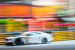 Jean-Karl Vernay races the Macau GT Cup during the 61st Macau Grand Prix on November 16, 2014 at Macau street circuit in Macau, China. Photo by Aitor Alcalde / Power Sport Images