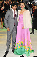 M. Night Shyamalan and Sarah Paulson at the &quot;Glass&quot; UK film premiere, Curzon Mayfair, Curzon Street, London, England, UK, on Wednesday 09 January 2019.<br /> CAP/CAN<br /> &copy;CAN/Capital Pictures